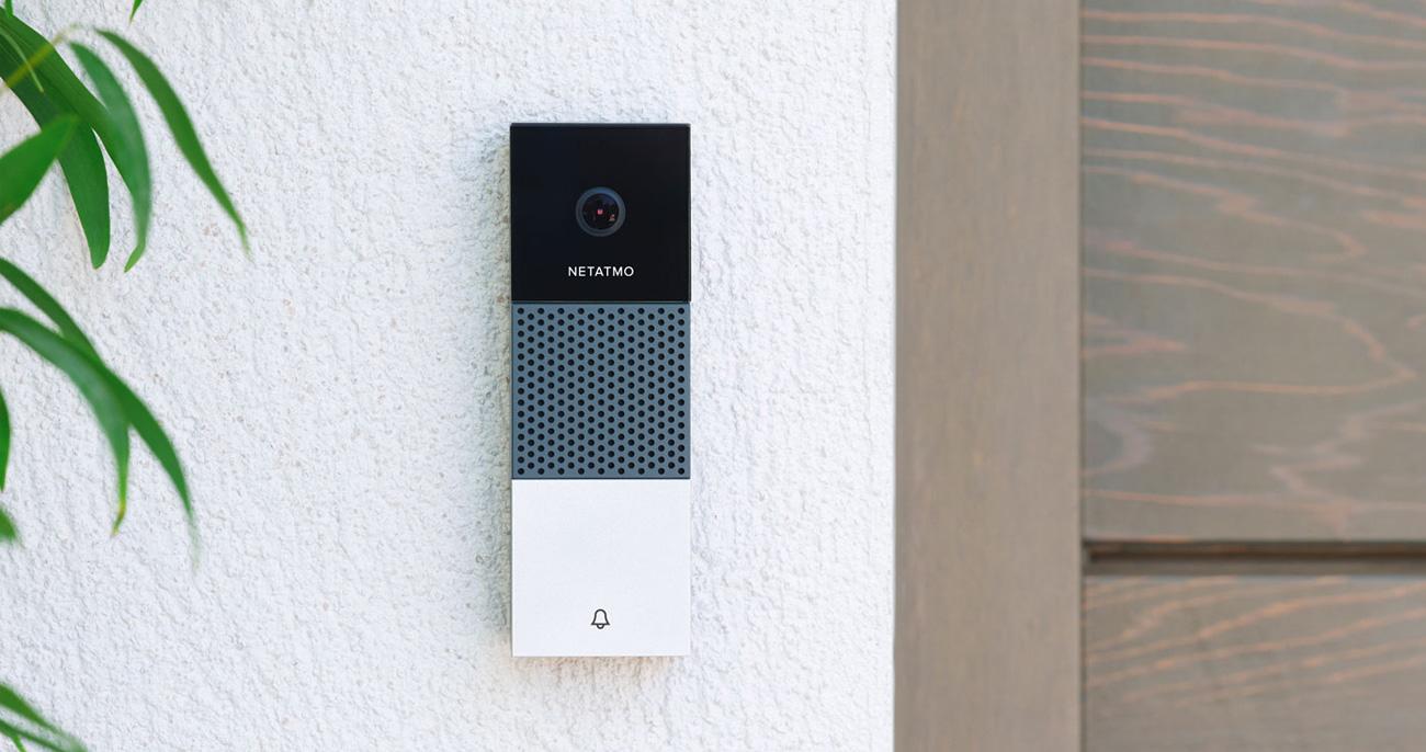 Sonnette communicante permettant de voir à distance qui se présente à l'entrée de vos bureaux et d'ouvrir la porte à distance